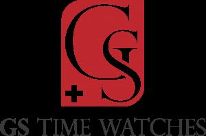 Neyz Agencja Reklamy: Projekt logo dla GS Time Watches - zegarki Szwajcaria