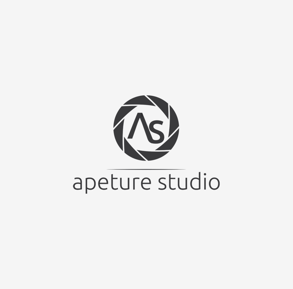 Projekt graficzny logo - Apeture Studio - Fotograf
