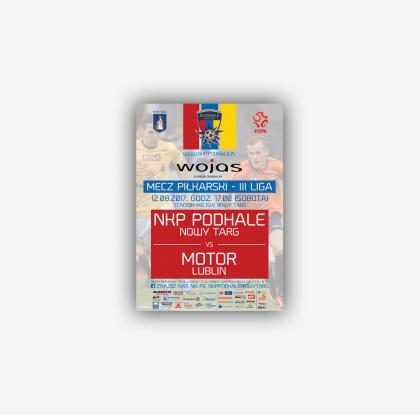 Materiały reklamowe dla NKP Podhale Nowy Targ